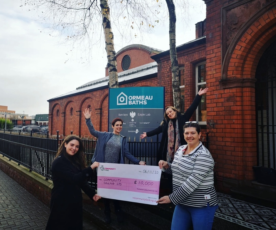 Community Network NI receives funding