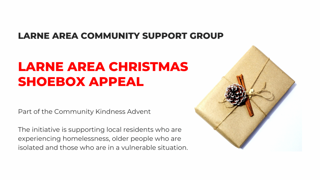 LARNE AREA CHRISTMAS SHOEBOX APPEAL