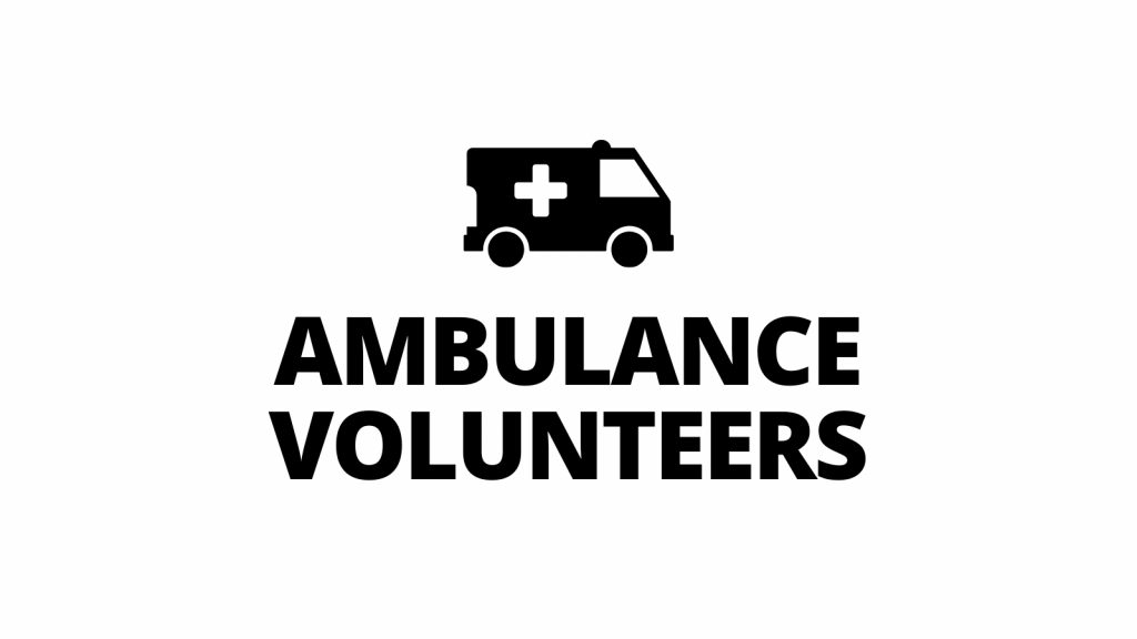 Volunteers Needed for Community Ambulance Service