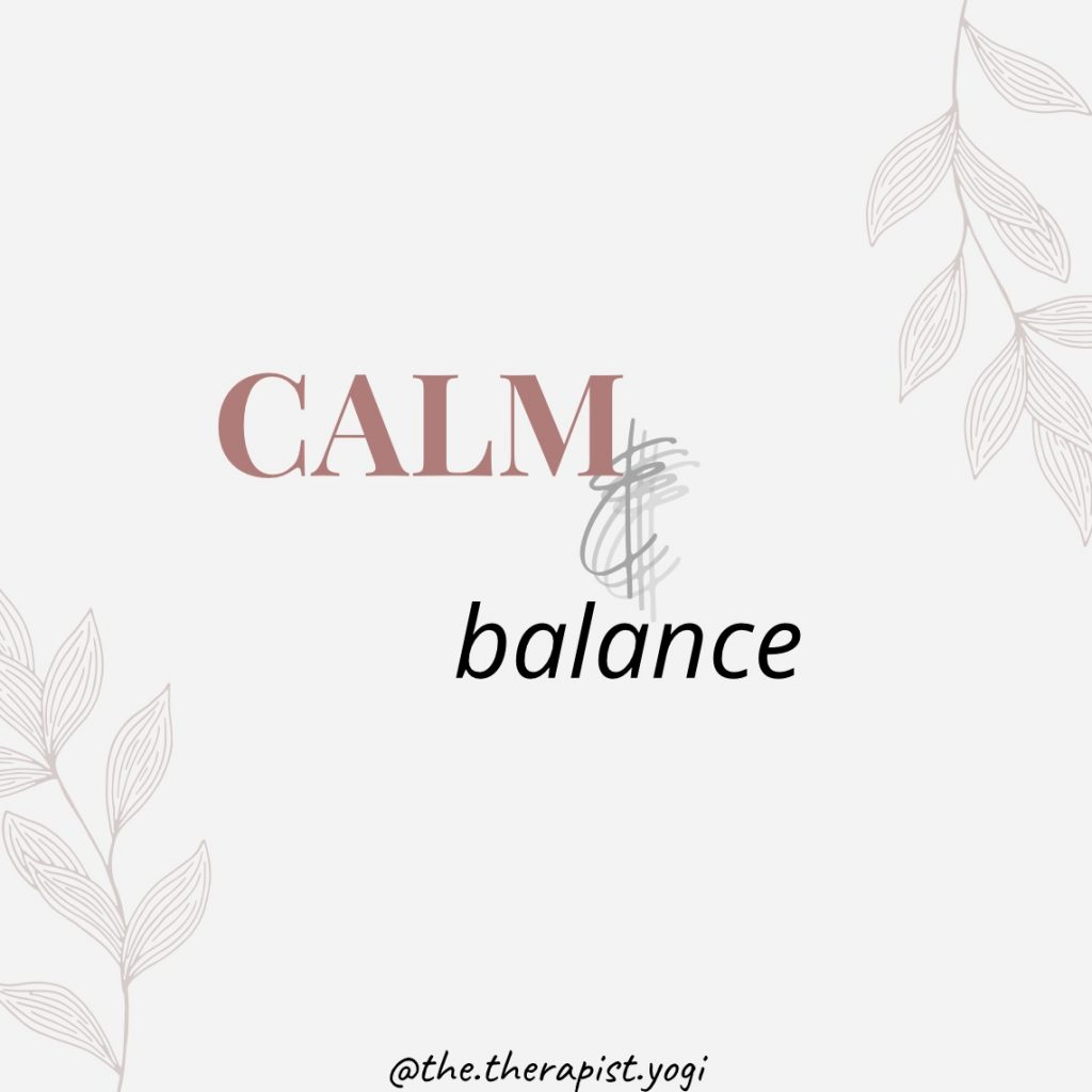 Calm & Balance Workshop with Dr Annalisa Manca