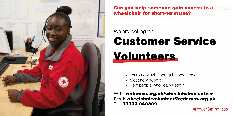 Customer Service Volunteer needed in Enniskillen