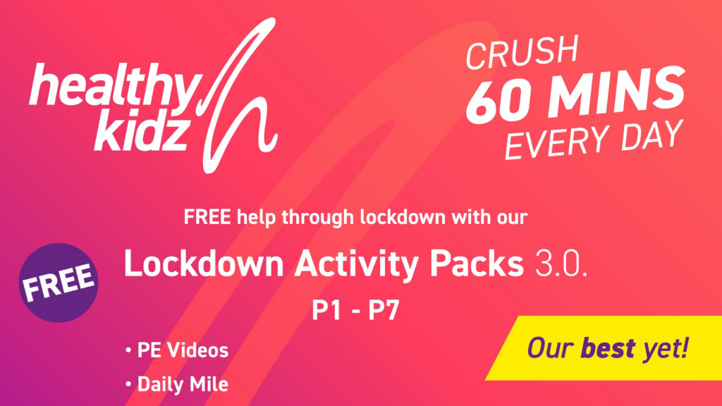 Healthy Kidz Lockdown Activity Packs