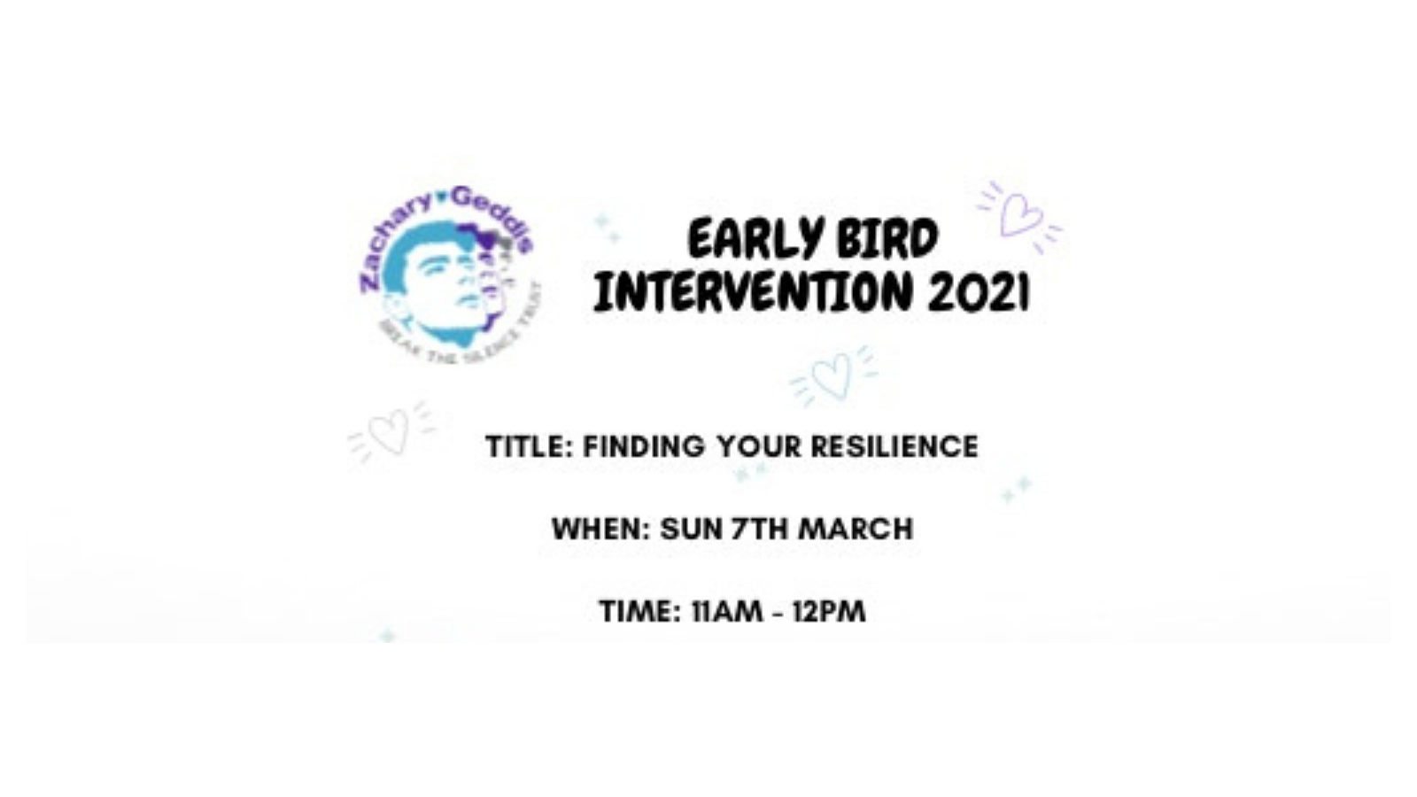ZGBTST Finding Your Resilience Youth Workshop
